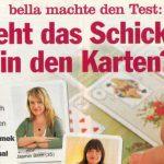 Artikel über Jasmin Blum in der Zeitschrift Bella
